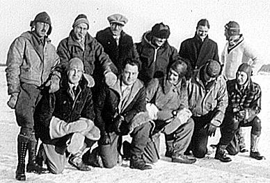 First official Mackenzie River airmail flight, 1929
