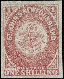 1862 - Rose, Thistle and Shamrock - Canadian stamp - Stamps of Canada