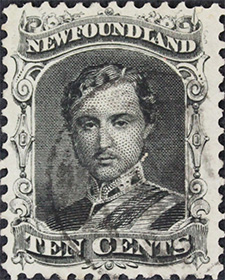 Prince Albert 1865 - Canadian stamp