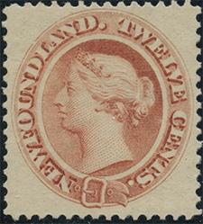 Queen Victoria 1865 - Canadian stamp