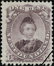 Prince of Wales 1868 - Canadian stamp
