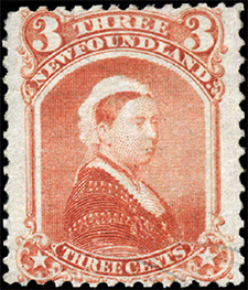 1870 - Queen Victoria - Canadian stamp - Stamps of Canada
