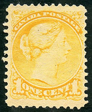 Queen Victoria  1870 - Canadian stamp