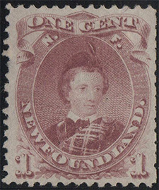 Prince of Wales 1877 - Canadian stamp