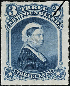 1877 - Queen Victoria - Canadian stamp - Stamps of Canada