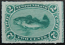 Codfish 1879 - Canadian stamp