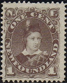 Prince of Wales 1880 - Canadian stamp