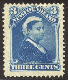 Queen Victoria 1880 - Canadian stamp