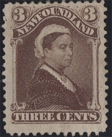 1887 - Queen Victoria - Canadian stamp - Stamps of Canada