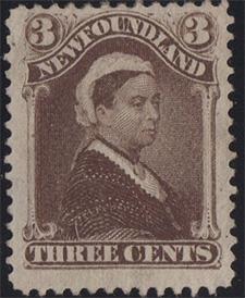 Queen Victoria 1887 - Canadian stamp