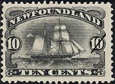 1888 - Brigantine - Canadian stamp - Stamps of Canada