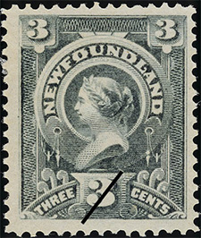 1890 - Reine Victoria - Canadian stamp - Stamps of Canada