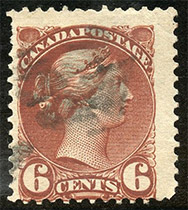 1891 - Queen Victoria  - Canadian stamp - Stamps of Canada
