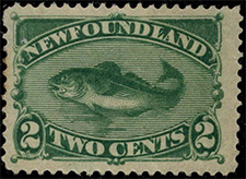 1896 - Codfish - Canadian stamp - Stamps of Canada
