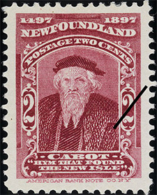 1897 - Hym that Found the New Isle - Canadian stamp - Stamps of Canada
