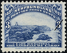 1897 - Cape Bonavista - Canadian stamp - Stamps of Canada