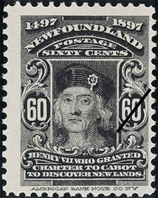 1897 - Henry VII - Canadian stamp - Stamps of Canada