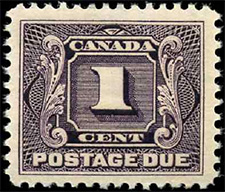 1906 - Postage Due - Canadian stamp - Stamps of Canada