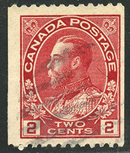 1915 - Roi Georges V - Canadian stamp - Stamps of Canada