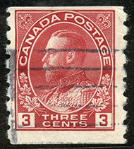 1924 - Roi Georges V - Canadian stamp - Stamps of Canada
