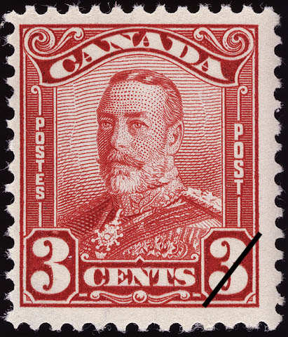 Stampsandcanada King George V 3 Cents 1928 Stamps Of Canada