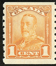 1929 - Roi Georges V - Canadian stamp - Stamps of Canada