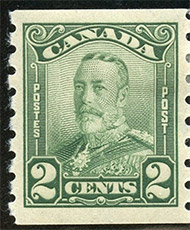 1929 - King Georges V - Canadian stamp - Stamps of Canada