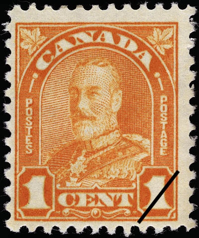 Stampsandcanada King George V 1 Cent 1930 Stamps Of Canada