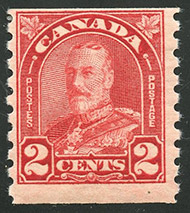 1930 - Roi Georges V - Canadian stamp - Stamps of Canada