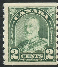 King Georges V 1930 - Canadian stamp
