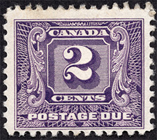Postage Due 1930 - Canadian stamp