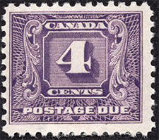 1930 - Postage Due - Canadian stamp - Stamps of Canada
