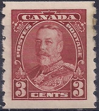 Stampsandcanada - King George V - 3 cents 1935 - Stamps of