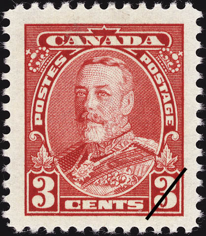 Stampsandcanada King Georges V 3 Cents 1935 Stamps Of Canada