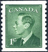 1949 - King Georges VI - Canadian stamp - Stamps of Canada