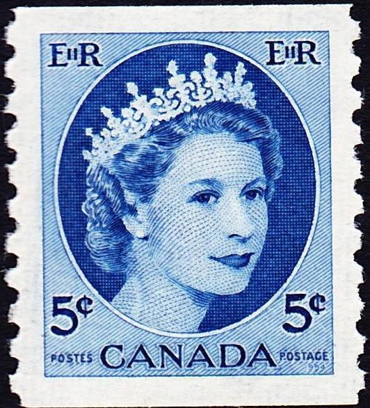 Queen Elizabeth II 1954