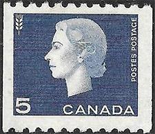 1962 - Queen Elizabeth II - Canadian stamp - Stamps of Canada