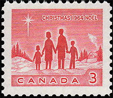 1964 - Family - Canadian stamp - Stamps of Canada