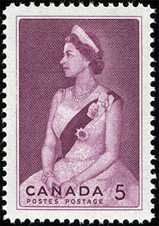 1964 - Royal Visit - Canadian stamp - Stamps of Canada