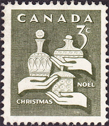 1965 - Gifts of the Wise Man - Canadian stamp - Stamps of Canada