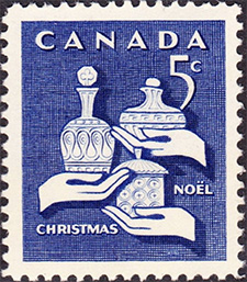 Gifts of the Wise Man 1965 - Canadian stamp