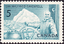 Wilfred Grenfell 1965 - Canadian stamp
