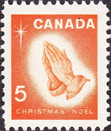 Christmas 1966 - Canadian stamp