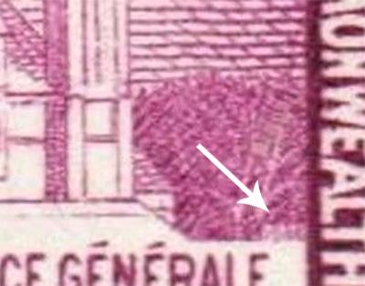 Canadian stamp - 1966 - Hidden date