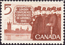 1966 - London Conference - Canadian stamp - Stamps of Canada