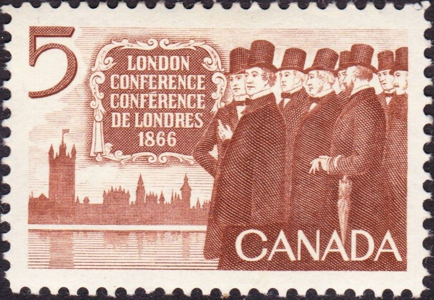 London Conference 1966 - Canadian stamp