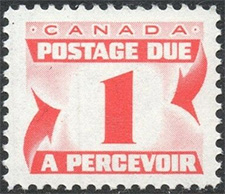 Postage Due 1967 - Canadian stamp