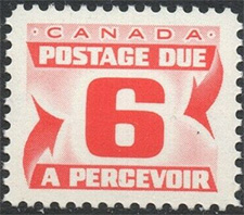 1967 - Postage Due - Canadian stamp - Stamps of Canada