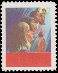Faces of Children - 5 cents 1969 - Canadian stamp