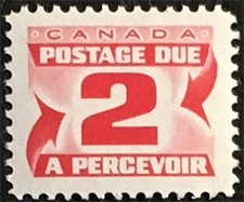 1969 - Postage Due - Canadian stamp - Stamps of Canada